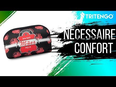 Necessaire Confort em Neoprene Personalizada para Brindes Corporativos