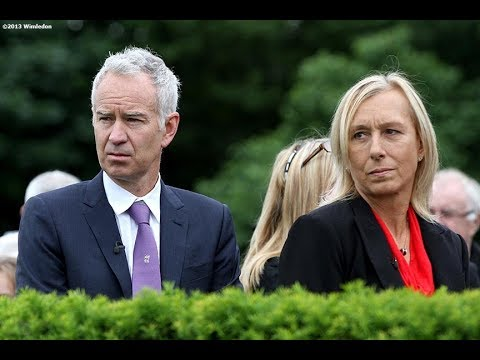 Navratilova Calls Out McEnroe over Pay Disparity