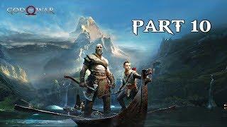 God Of War Walkthrough Part 10 - The Magic Chisel | PS4 Pro Gameplay