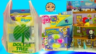 Dollar Tree Haul Video of Finding Dory, Queen Elsa Frozen ,  Crafts , Doll House Kit + More