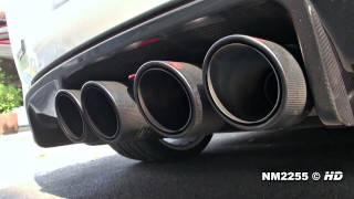 Chevrolet Camaro, Corvette ZR1 with Akrapovic Exhaust - LOVELY SOUND