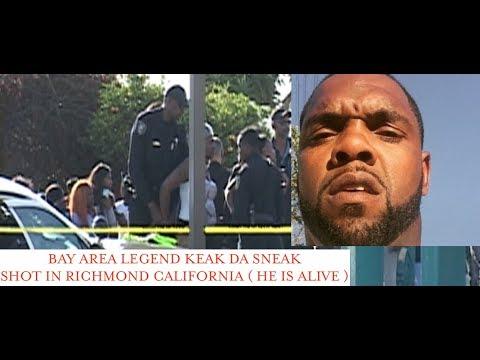 Rapper Keak Da Sneak Sh0t in Richmond California Gas Station. HE IS ALIVE AND RECOVERING!
