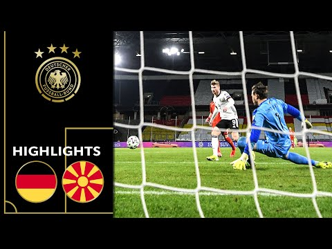 The Victory of the Underdog! | Germany vs. North Macedonia 1-2 | Highlights | World Cup Qualifiers