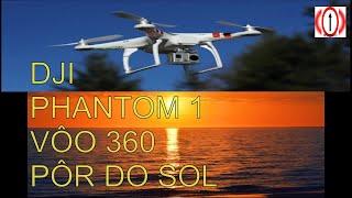 Vôo do pôr do sol Dji phantom 1 camera 360 VAMOS_LET'S VOAR Sunset flight Dji phantom 1 camera 360