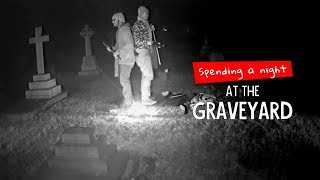 We Tried Spending A Night At A Graveyard | Ft. Akshay & Kanishk | Ok Tested