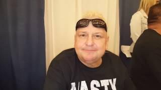 Nasty boy Brian Knobbs enjoys ComiConn 2017!