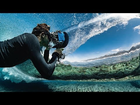 """See Through the Lens of the Worlds Best Underwater Surf Photographer 
