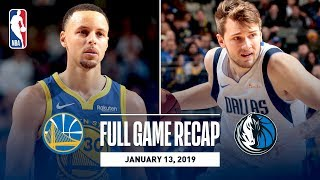 Full Game Recap: Warriors vs Mavericks | Luka & Steph Shine In Dallas