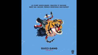 Gucci Gang (Remix) - Ozuna feat. Bad Bunny, French Montana, J Balvin, 21 Savage, Remy Ma, Ozuna y Gucci Mane (Video)