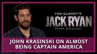 John Krasinski On Almost Being Captain America