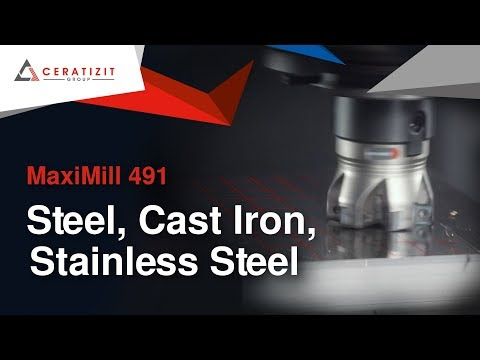 Bearbeitung von Stahl, rostfreien Stahl und Gusseisen