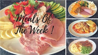 What's for tea this week? Meals of the week 17th-23rd of June :)