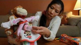 Motorcycle Diaper Cake - How To Make