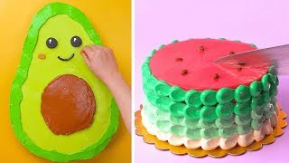 10 Fun & Exciting Cake Decorating Ideas | Most Satisfying Cake Decorating Tutorials | Tasty Plus