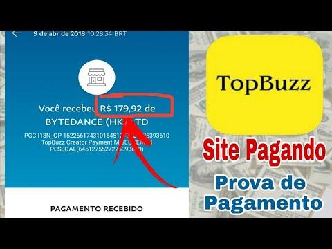 TOPBUZZ Prova de Pagamento no Paypal ( R$ 179,92 )