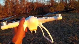 "FREE-X BIG CHEAP GPS QUAD (STD VERSION) ""TEST FLIGHT & FIRST REVIEW!"""