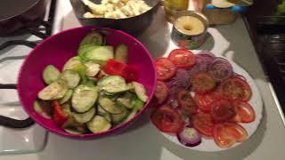 Как приготовить овощи на гриле в домашних условия.