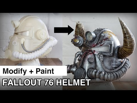 Fallout 76 Helmet | Modify and Paint
