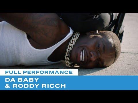 "DaBaby & Roddy Ricch Make Powerful Statement In ""Rockstar"" Performance   BET Awards 20"