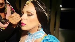"""Opera """"Peshkatarët e Perlave"""" 2017 , Inva Mula në backstage, ajo vjen në rolin e Leilas"""