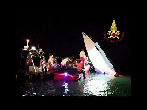 العرب اليوم - شاهد: مقتل 3 أشخاص في حادث تحطم قارب بمدينة البندقية الإيطالية