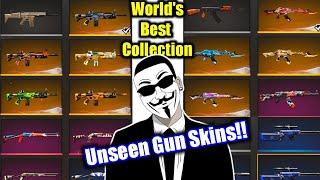 World's Best Gun Collection in Garena Free fire !! UnGraduate Gamer