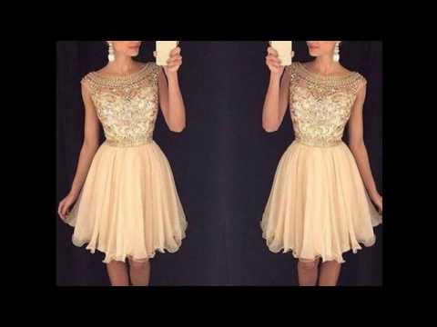 Vestidos cortos elegantes super hermosos