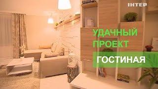 Гостиная с камином в эко-стиле - Удачный проект - Интер