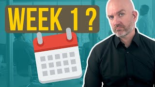 4 things every first time manager should do on the first week