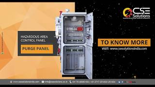Know more about our Hazardous Area Control Panel – Purge Panel