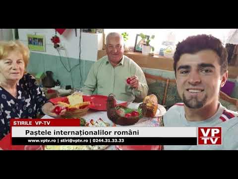 Paștele internaționalilor români