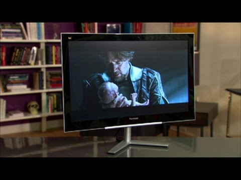 Despite a wobbly stand, the Viewsonic VX2460H-LED succeeds thanks to its low price