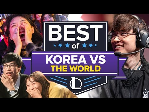 The Best of Korean League of Legends Teams Dumpstering the Rest of the World