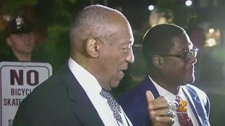 Cosby Speaks Outside Courthouse