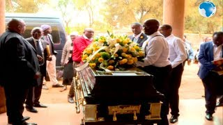 NMG boss Kiboro mother's burial