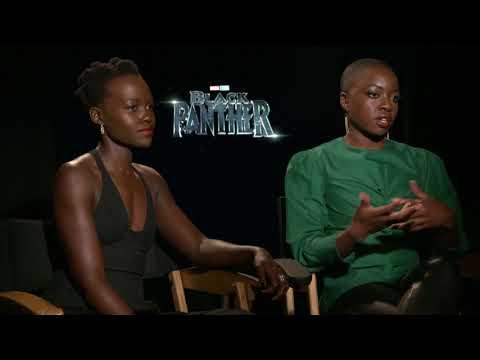 Lupita Nyongo & Danai Gurira Black Panther Interview