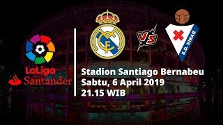 Video Live Streaming dan Jadwal Laga Real Madrid Vs Eibar di HP Via MAXStream beIN Sports