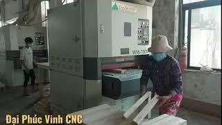 WOODMASTER thương hiệu máy chà nhám thùng được sử dụng nhiều nhất tại Việt Nam