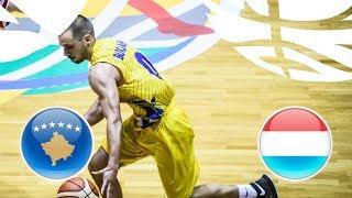 Kosovo v Luxembourg - Full Game - Class. 17-22 - FIBA U20 European Championship Division B 2018 | Kholo.pk
