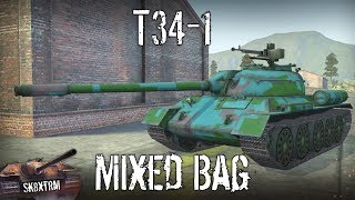 T34-1 - A Mixed Bag - Wot Blitz