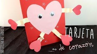 Tarjeta Corazón De San Valentin