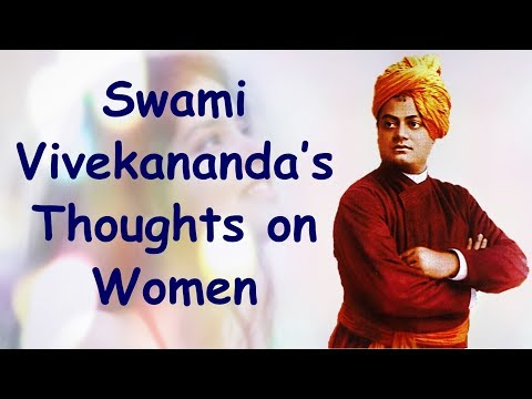 Swami Vivekananda's Thoughts on Women | Swami Vivekananda Quotes on Women and Womanhood