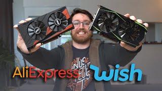Aliexpress GTX 1050 Ti vs Wish.com GTX 1050 Ti. Real vs Fake
