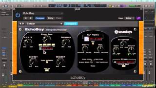 Soundtoys 101: Playing With Soundtoys - 13. EchoBoy Intro