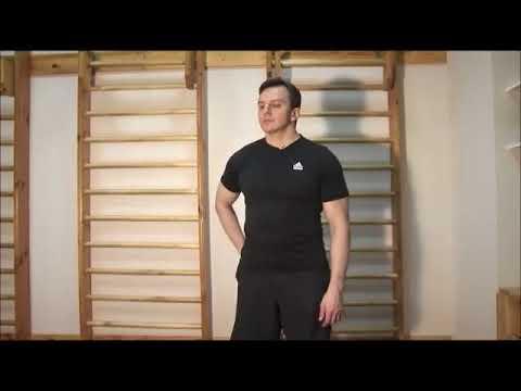 Изометрическая гимнатика. Плечевой сустав.
