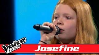 Josefine Synger 'Uden Forsvar'   Voice Junior Danmark   Program 3   Sæson 2