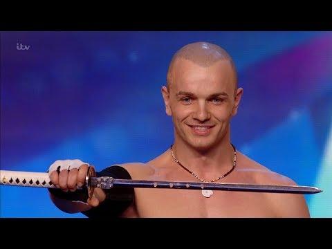 Alexandr Magala's DEATH DEFYING stunt   Britain's Got Talent Unforgettable Audition   YouTube (видео)