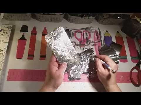 Puzzleteil mit Metal,Aluminium Klebeband Tutorial...