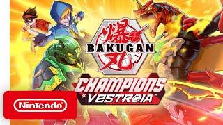 Nintendo Bakugan: Champions of Vestroia - Announcement Trailer anuncio