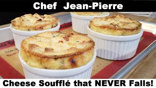 Cheese Soufflé That NEVER Falls!